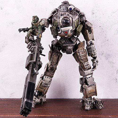 brandless Artes del Juego Atlas Titanfall 2 Atlas Juego Figura de acción Atlas PVC Figura de acción Modelo Coleccionable Juguete