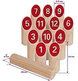 Eichhorn 100004540 - Wurfspiel - in Stoffbeutel - 14 teilig