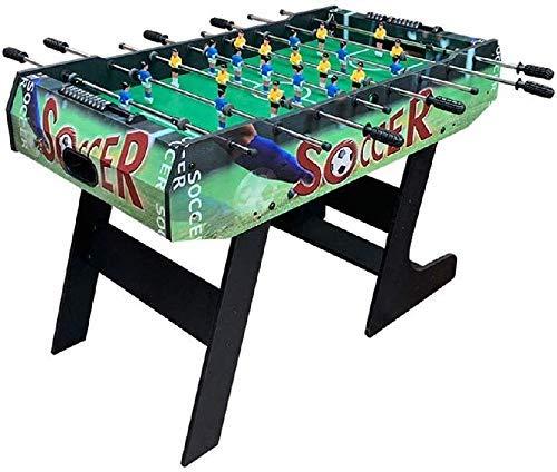 Klapptisch Fußball, Table Top Football, Kicker Tischspiele, frei stehend Fußball-Tabelle Spiel-Fußball-Maschine Sport Entertainment Spieltisch Größe 80 * 63 * 120 cm LOLDF1
