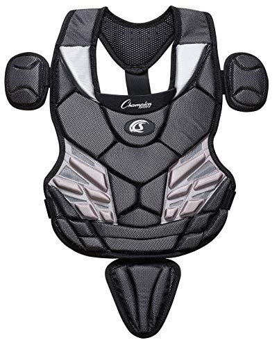 Champion Sports Baseball Chest Protector: Youth Baseball and Little League Catchers Sports Equipment