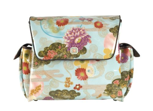 Fleurville MotherShip Bag Wickeltasche Floral Sky, MS FS