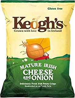 Keogh's Dubliner Irish Cheese & Onion Crisps 50g x 3