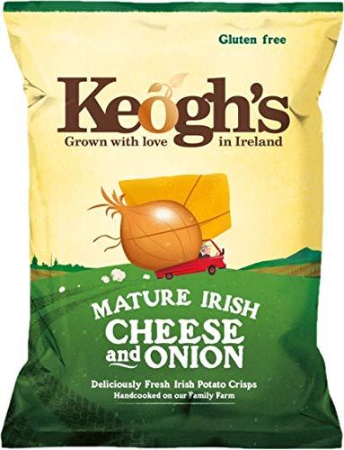 Keogh's Dubliner Irish Cheese Onion 50g Crisps Max 83% OFF 3 x Genuine Free Shipping