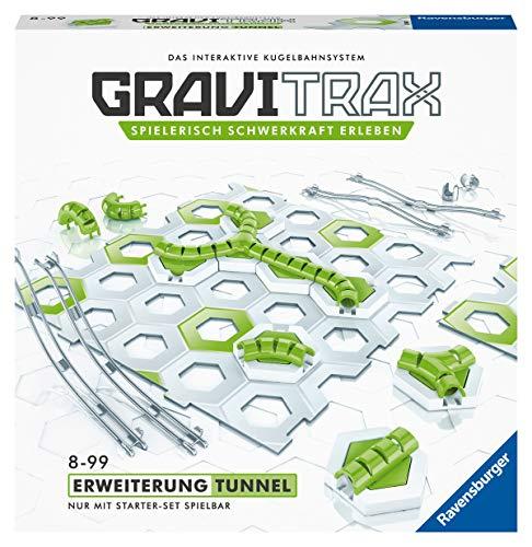 Ravensburger GraviTrax Erweiterung Tunnel - Ideales Zubehör für spektakuläre Kugelbahnen, Konstruktionsspielzeug für Kinder ab 8 Jahren