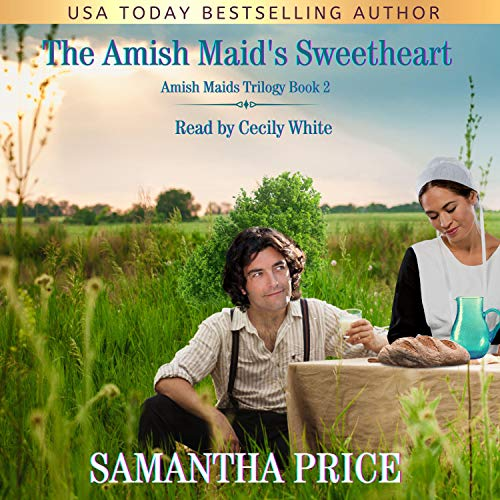 The Amish Maid's Sweetheart Audiobook By Samantha Price cover art