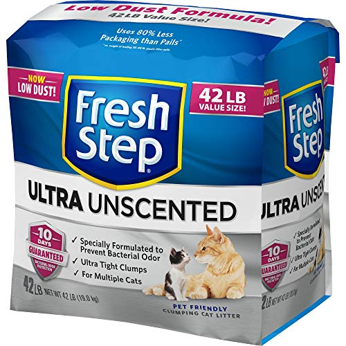 Fresh Step Ultra Unscented Cat Litter