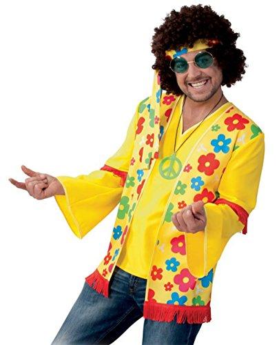 KarnevalsTeufel Flower Hippie Oberteil für Herren (L)