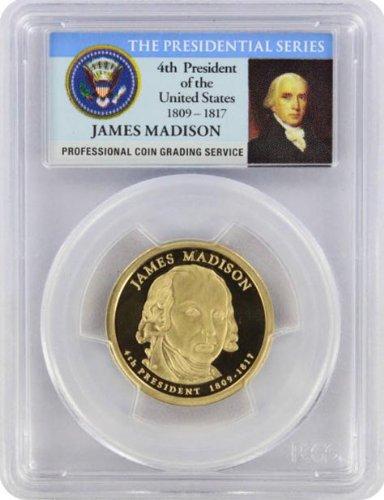 2007 Madison Presidential S Proof Presidential Dollar PR-69 PCGS