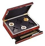 C334359 - Caja de reloj de bolsillo con capacidad para 6 relojes – Caja en acabado brillante de...