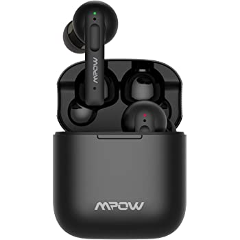 True Wireless Earbuds, Mpow X3 in-Ear Bluetooth Earphone, Active Noise Cancellation, Touch Sensor,4 Mics for Calls, 27 Hrs w/Type-C Charging Case, Waterproof IPX7, TWS Earbuds Bluetooth 5.0