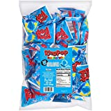 Ring Pop Individually Wrapped Blue Raspberry Party Pack – 30 Count Blue Raspberry Flavored Candy Lollipop Suckers - Blue Candy for Celebrations and Virtual Parties