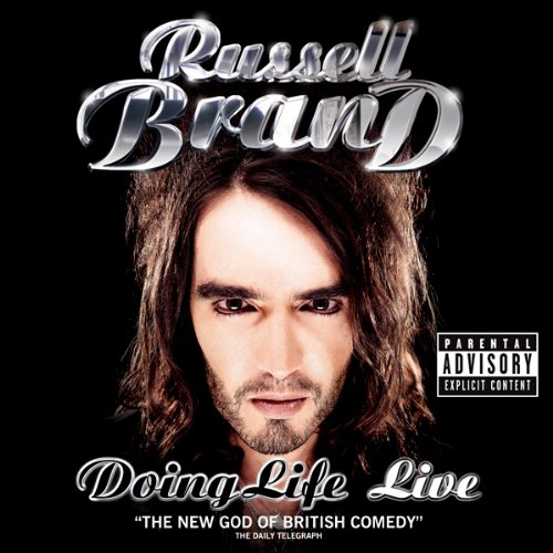 Russell Brand audiobook cover art