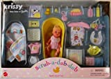 Barbie KRISSY Scrub-A-Dub-Dub - Juego de muñecas divertidas (2000)