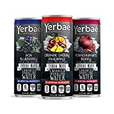 Yerbae Enhanced Sparkling Water, Natural Energy Drink with Yerba Mate Tea, Whole 30 and Keto Diet Friendly...