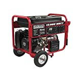 Gentron GG10020, 10000 Watt Gas Powered Portable Generator with Electric Push Start for Home Emergency Power Backup, RV Standby, Hurricane Storm Damage Power Restoration, EPA Certified