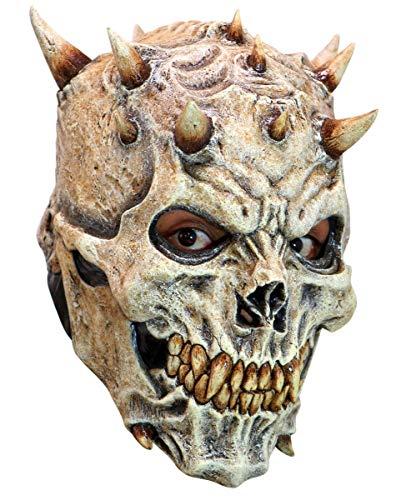 Hochwertige Night King Skull Maske aus Latex für Halloween, LARP & Cosplay