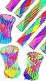 24 Stück Hüpfröhren , Super Sprungkraft , Mitgebsel , Knallbunten Hüpfer , Multicolor Hüpfröhre Springstab Hüpfer, Mitbringsel Give Away - daydayversand
