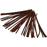 Rohrreiniger, Stärke 6 mm, L: 30 cm, Braun, 50 Stück
