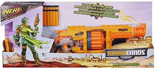 Hasbro Nerf B3189EU4 Doomlands Lawbringer, Spielzeugblaster