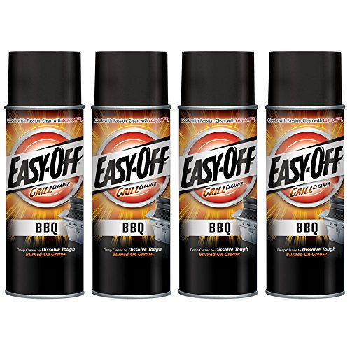 Easy-Off BBQ Grill Cleaner, 14.5 oz Can (Pack of 4)