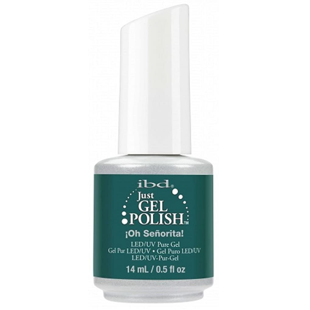 表向き適度に警察署ibd Just Gel Nail Polish - Oh Senorita! - 14ml / 0.5oz