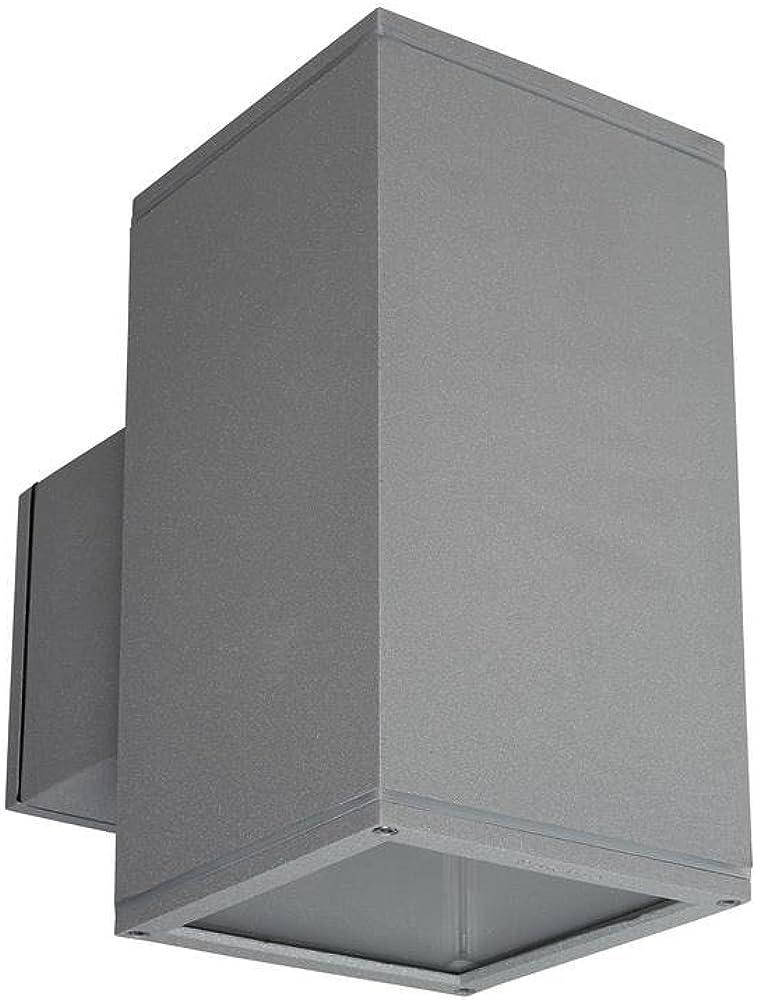 Leds c4,lampada da parete afrodita,in vetro e alluminio 05-9369-34-37