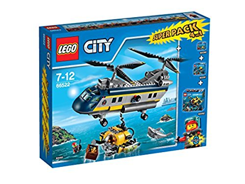 LEGO City 66522 - Tiefsee Value Pack