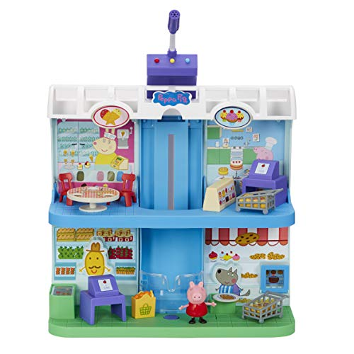 Peppa Pig - Playset Centro Comercial con figura
