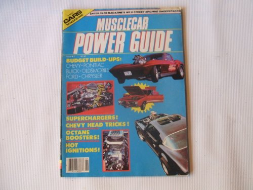 Cars Magazine Issue # 1 - K48337 (MUSCLECAR POWER GUIDE, SUPERCHARGERS! CHEVY HEAD TRICKS ! OCTANE BOOSTERS !)