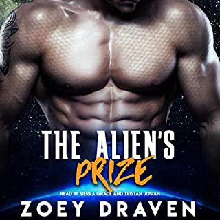 The Alien's Prize audiobook cover art