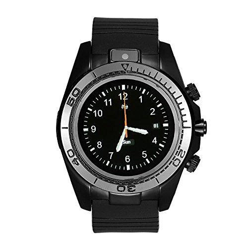 MoreBeauty 2G Llamar Smart Watch BT Deportes Smartwatch Reloj Cámara Dispositivos Wearable Tarjeta SIM TF Smartwach