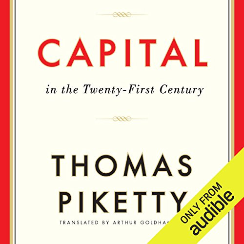 Capital in the Twenty-First Century                   Written by:                                                                                                                                 Thomas Piketty,                                                                                        Arthur Goldhammer (translator)                               Narrated by:                                                                                                                                 L. J. Ganser                      Length: 24 hrs and 58 mins     29 ratings     Overall 4.3