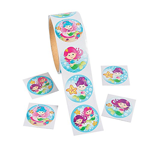 Mermaid Stickers - 100 pc