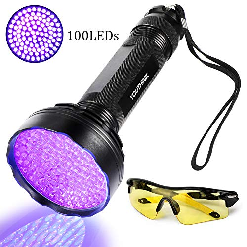 Linterna UV Ultravioleta LED 395nm, Flashlight Blacklight L�