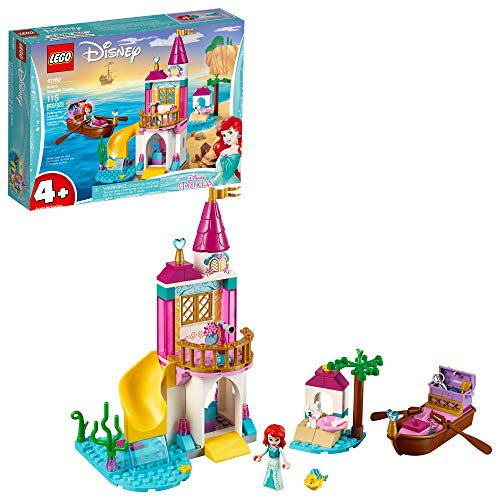 LEGO Disney Ariel's Seaside Castle 41160 4+ Building Kit (115 Pieces) (Discontinued by Manufacturer)