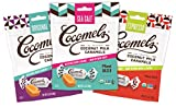 Cocomels Coconut Milk Caramels, Original, Sea Salt, and Espresso, Organic Candy, Dairy Free, Vegan, Gluten Free, Non-GMO, No High Fructose Corn Syrup, Kosher, Plant Based, (Variety 3 Pack)