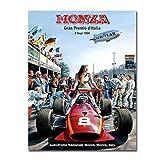 YXFAN Grand Prix 1968 In Monza Poster Malerei Leinwanddruck