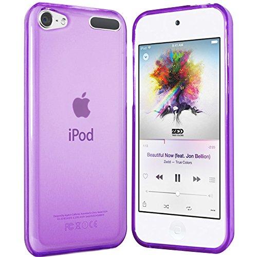 moodie Silikon Hülle für iPod Touch 7 Hülle in Lila - Case Schutzhülle Tasche für iPod Touch 7G / 6G