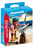 PLAYMOBIL - Special Plus Pirata con Cañón Muñecos y Figuras, Color Multicolor (5378)