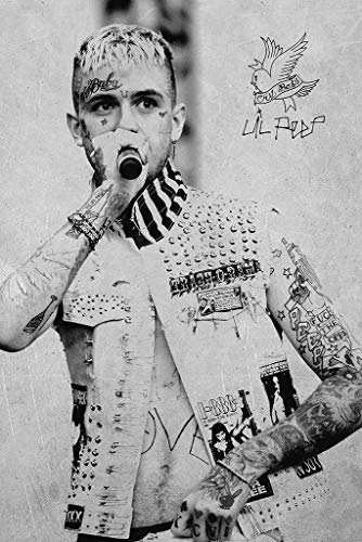 Lil Peep Music Poster 24in x 36in