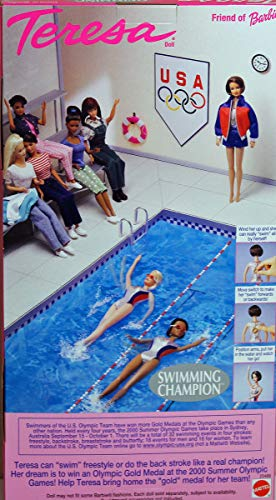 Teresa, Swimming Champion, Friend of Barbie, Mattel 25489