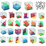 THE TWIDDLERS Mini Juegos Rompecabezas - Set de 28 Puzzles - Juegos con Niveles Diferentes Regalos de Fiesta Cumpleaños - Detalles Sorpresa - para Adultos o Niños