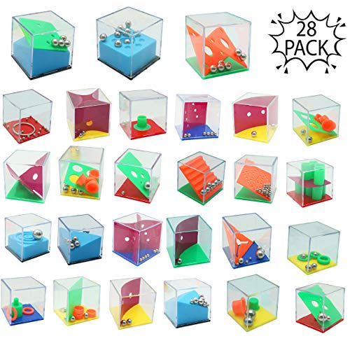 THE TWIDDLERS Mini Juegos Rompecabezas - Set de 28 Puzzles