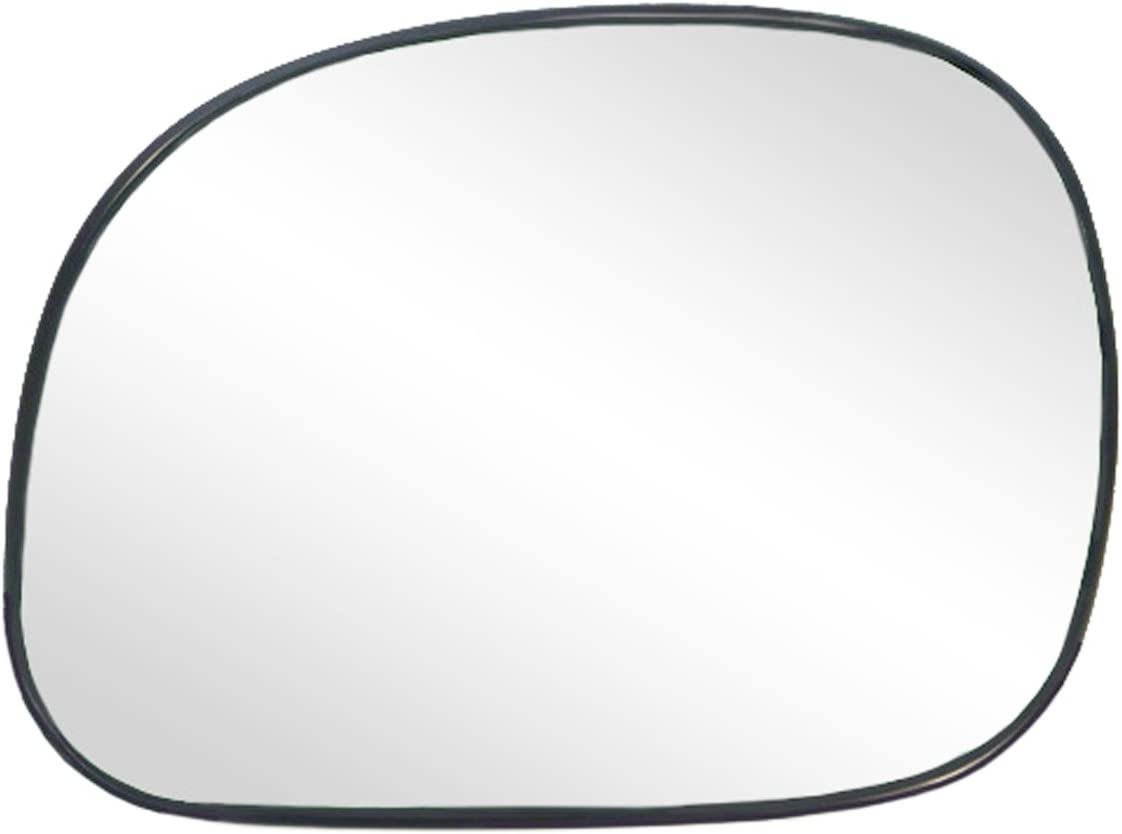 Quantity limited Driver Side Charlotte Mall Non-heated Mirror Glass Exped backing w plate Ford