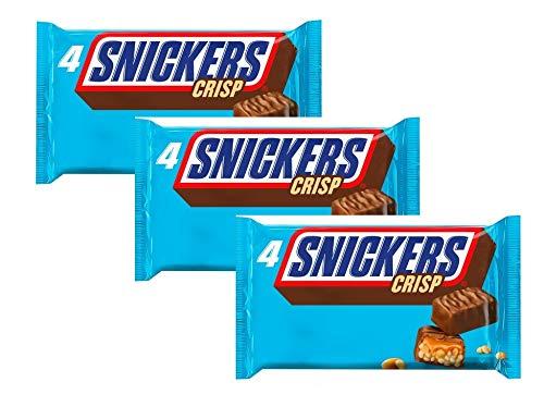Snickers Crisp, 4 x 40 g