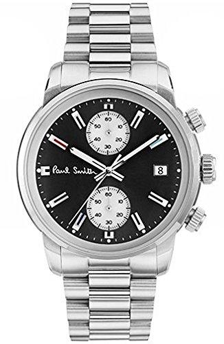 [ポールスミス] 腕時計 Block Chrono P10033 メンズ 並行輸入品 シルバー [並行輸入品]