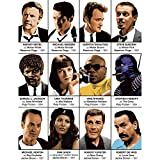 Art-Poster Quentin Tarantino Characters Olivier