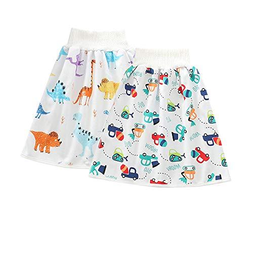 おねしょ スカート 2枚 おねしょケット 腹巻付 男の子 おねしょガード おねしょ防水 おねしょ対策ケット 赤ちゃん 夜尿対策 トレーニングパンツ