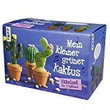 Mein kleiner grüner Kaktus - Häkelset für 3 Kakteen: Komplett-Set zum Sofort-Loslegen mit Garn,...