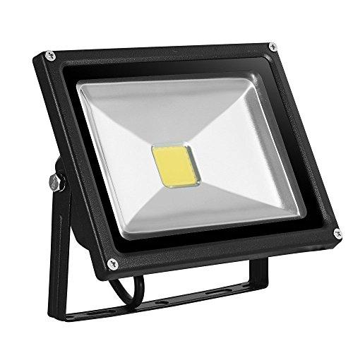 10W/20W/30W/50W/100Wwarmweiß mit schwarz Aluminium Gehäuse IP65 wasserdicht LED Lampe Squre Wandleuchter Fluter Flutbeleuchtung Flutlicht Scheinwerfer Außenstahler Leuchtmittel Energiesparend (20)